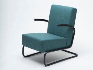 Gispen 405 fauteuil BLACK EDITION