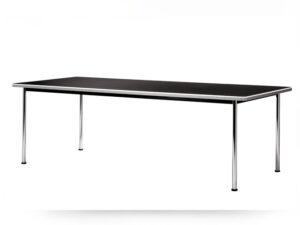 Gispen 515 tafel Linoleum Desk-top zwart