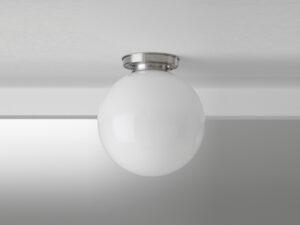 Gispen plafonniere simpel ball 30cm glas