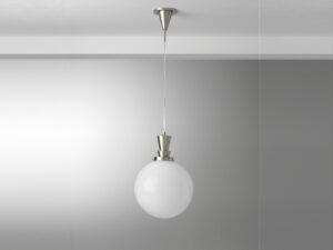 Gispen hanglamp snoer ball 30cm glas