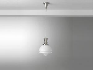 Gispen hanglamp snoer punt glas