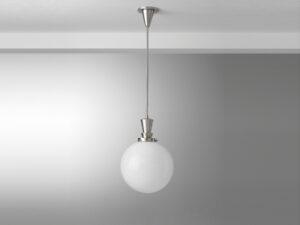 Gispen hanglamp stang ball 30cm glas