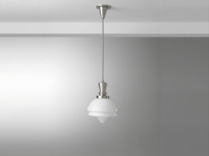 Gispen hanglamp stang punt glas