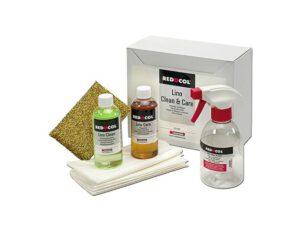 Lino Clean & Care reinigings- en onderhoudsset voor linoleum