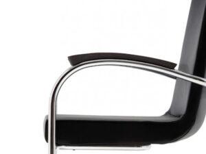 Zwart bakeliet armlegger voor GT 412RH