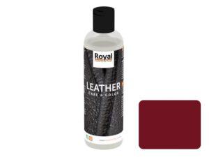 Leather Care en Color Bordeaux 250ml